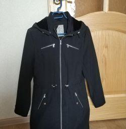 Raincoat female waterproof, windproof