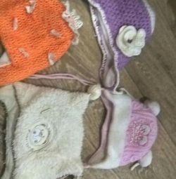 Children's hats.
