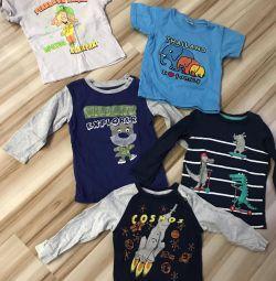 Пакет детских вещей футболок 6 шт