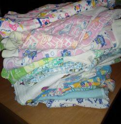 Χρησιμοποιούνται μπλούζες για παιδιά