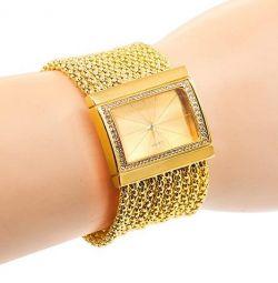 Elite women's watch with Swarovski crystals