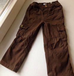 Pantaloni pentru baietel (94 cm)