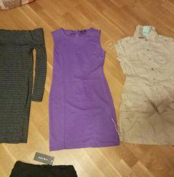 Платья и юбка 34 размер