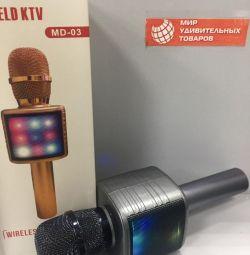 Microfon MD-03 gri grafit