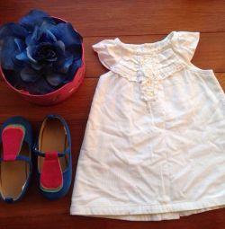 Платье 9-12мес