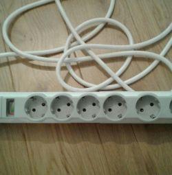 Cablu de extensie cu siguranță