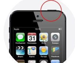 Lock button on iPhone 5s with replacement