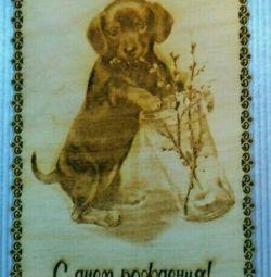 Handmade greeting cards.