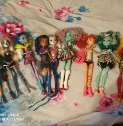 Rare dolls monster high.collection.