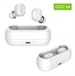Nouă phones BT5.0 TWS Căști QCY QS1 T1 Alb Nou