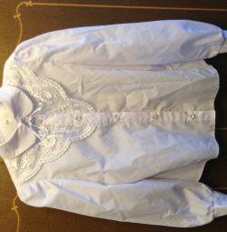 Блузки білі