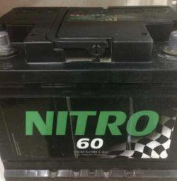 Μπαταρία NITRO 60 Ar