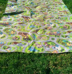 Carpet covering for children