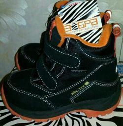 Новые ботинки зебра 22 23 24 25 26 27