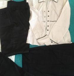 Pants Capri shirt on 48-50r-r