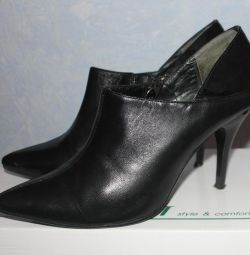 Ankle boots made of leather, belvest, p.40