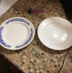 Тарелка мелкая 6 штук
