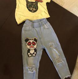 Jeans ? T-shirt 4-6