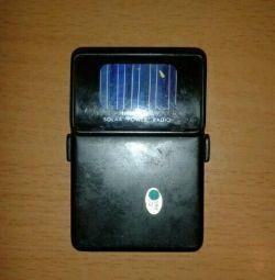Радио от солнечных батареи