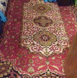 Woolen carpet 3 * 2