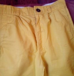 Kızlar için pantolon yüksekliği 140