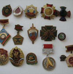 Σημάδια βαρέων μετάλλων 16pcs