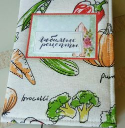 Handmade cooking notebooks.