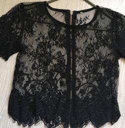 блуза мереживо