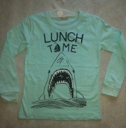 🐬T-shirt cu maneci de 2 ani