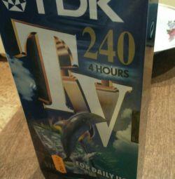 Видеокассета TDK 240