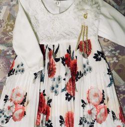 Плаття-плісе розмір 92 нове