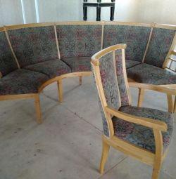 Used corner sofa