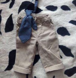 Pantolon + hediye bluz