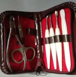 Set de manichiură de 6 obiecte
