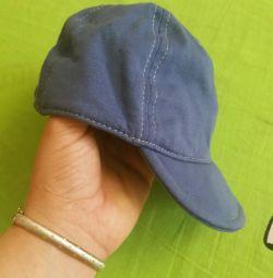 Трикотажная шапочка на лето