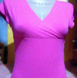 T-shirt Stretch Pink Lagoon 42-44