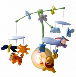 Tomy Winnie the Pooh Musical Mobile Night Night