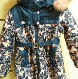 Bir kız için ceket (kış)