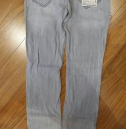 джинсы новые GJ, размер 158-164.