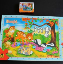 Children's puzzle with 600 parts