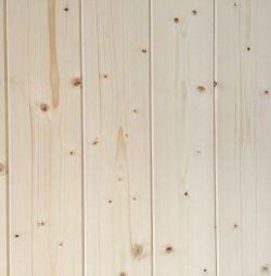 Вагонка штиль из сосны 120х14мм