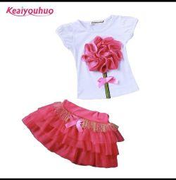 Costum pentru fete 3-4 ani