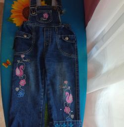 Salopete din denim