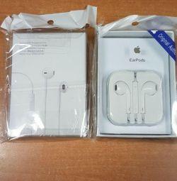 Навушники на i phone (гарна якість)