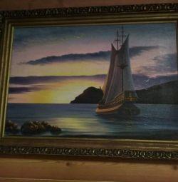 Oil painting Markovsky VA.