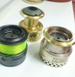 For fishing reels