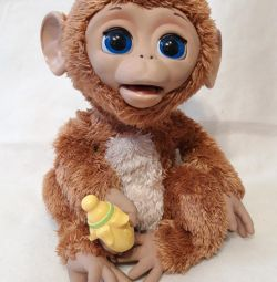 Смешливая обезьянка FurReal Friends б.у.