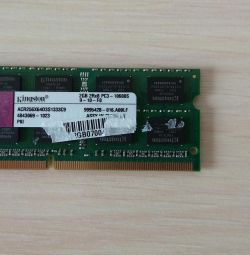Memorie Kingston so-dimm ddr3 2 gb