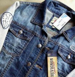 Новая Джинсовая куртка Chevignon оригинал