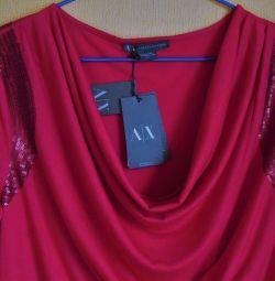 Νέο Armani Exchange Ιταλία μπλούζα αρχικό πρωτότυπο
